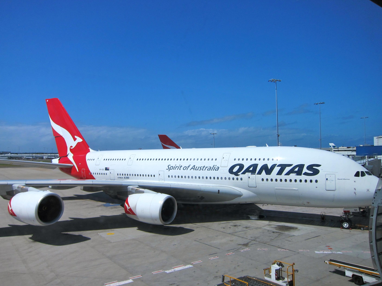 the qantas a380 lax syd lax thegastronomictraveler. Black Bedroom Furniture Sets. Home Design Ideas