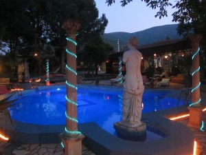 The Pool area of Atilla's