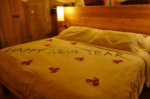 bed on NYE