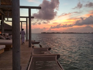 last Maldivian sunset from Chill Bar