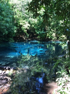 The Blue Pool, more sapphire if you ask me.