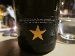INEDIT DAMM malt and wheat beer infused with spices and created by Ferran Adria
