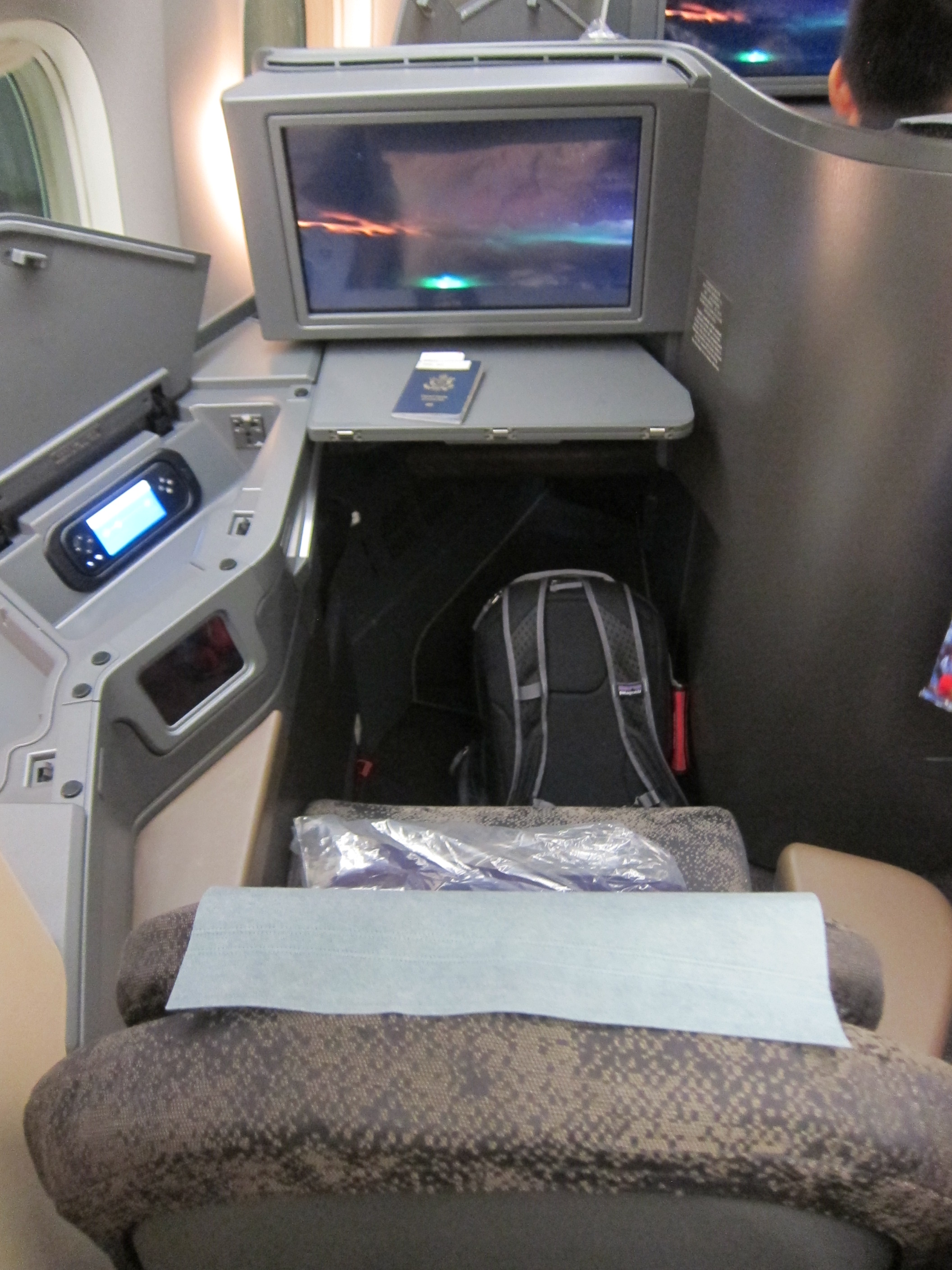 Review China Airlines Ci 777 300er Business Class