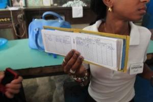 La Liberta, the Cuban rationing book that each household gets