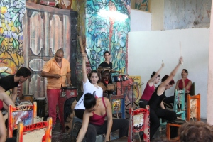 Habanas Compas Dance company, Afro-Cuban roots meet Flamenco in a Stomp-esque performance
