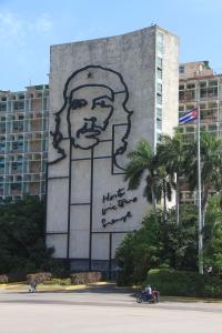Cuba's best friend, Che. At Revolution Square