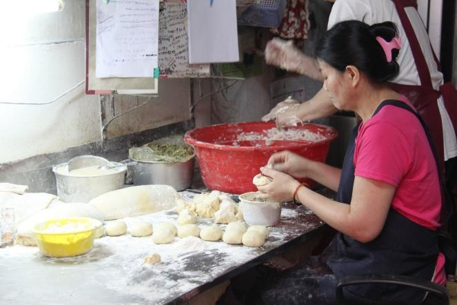 Making Shaobing