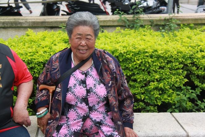Cheerful Kinmen grandma